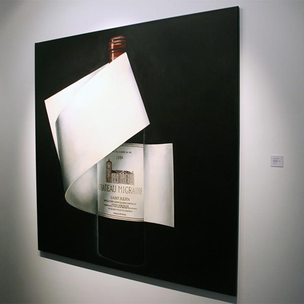 Rob Scholte - Chateau Migraine - 150x150cm Acrylverf op linnen