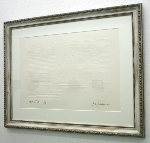 Rob Scholte - Cliche - Embos op papier
