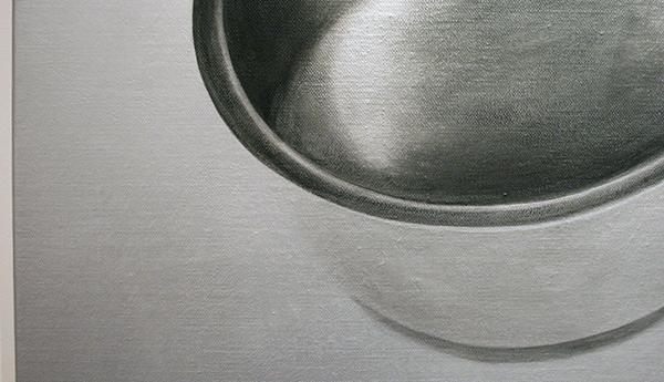 Rob Scholte - Honger - 150x150cm Acrylverf op linnen (detail)