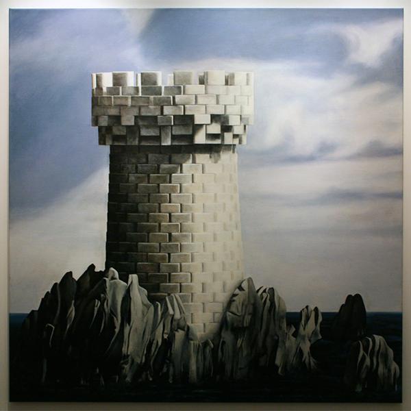 Rob Scholte - Why Not Sneeze - 150x150cm Acrylverf op linnen