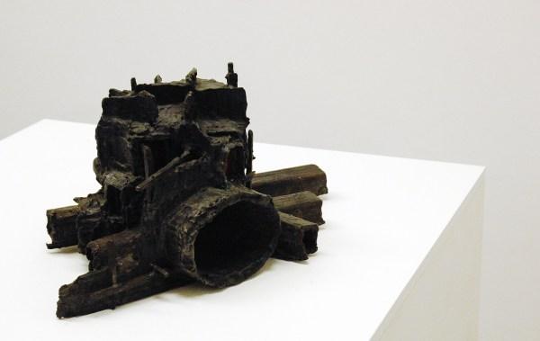 Rob Voerman - Traverse #1 - 40x38x24cm Brons en glas