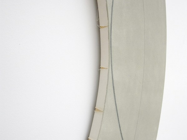 Robert Mangold - Ring Image (B) (Variation) - Acrylverf en zwart potlood op canvas, 2008 (detail)