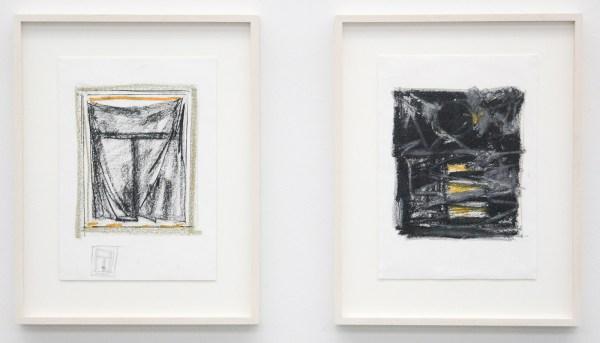 Robert Zandvliet - Moonlit - Grafiet en oliepastel op papier, 10 van 10 bladen (detail)