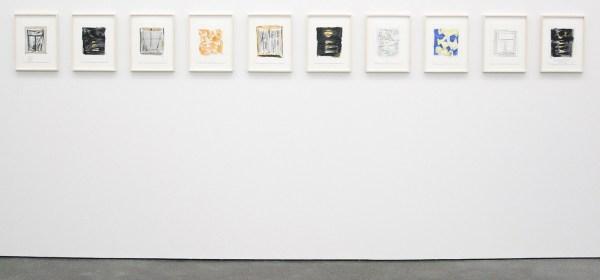 Robert Zandvliet - Moonlit - Grafiet en oliepestel op papier, 10 van 10 bladen