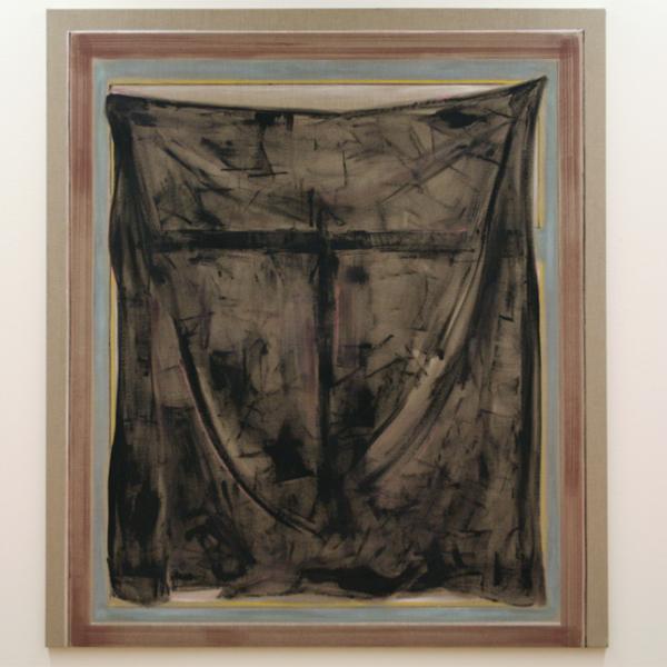 Robert Zandvliet - Rahmenbild - Gesso, eitempera en oilstick op linnen