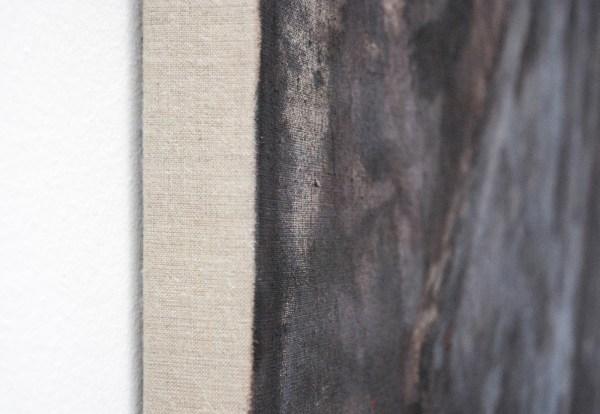 Robert Zandvliet - Seven Stones - Acrylverf op linnen (detail)