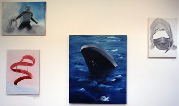 Robin Meyer - Diverse werken - olieverf op doek