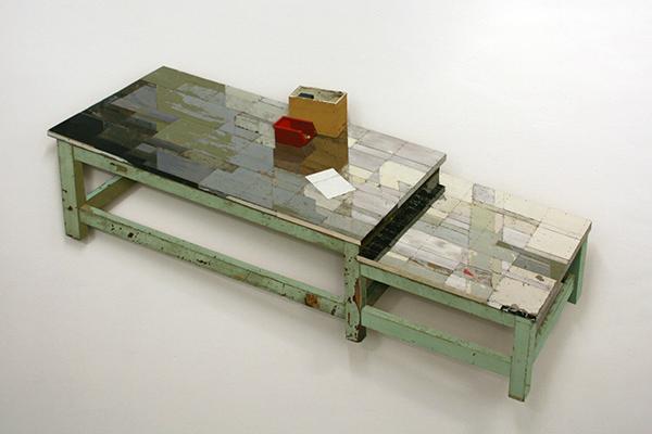 Ron van der Ende - Werktafel - Hout