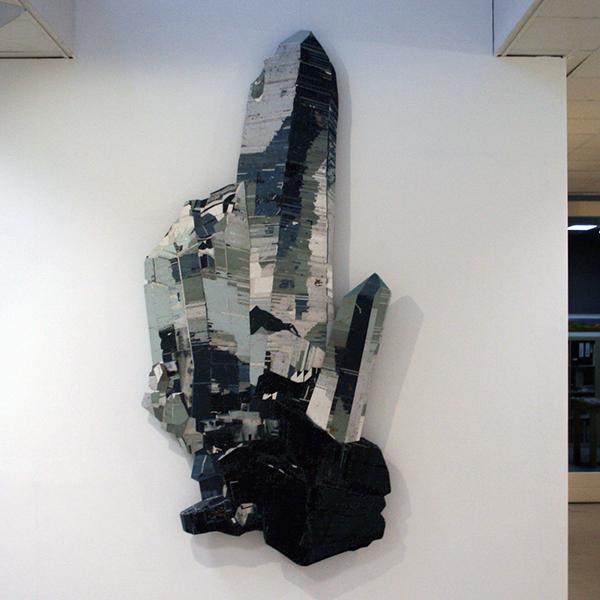 Ron van der Ende - Yoshiwara - 120x245x12cm Houtrelief