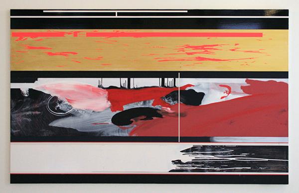 Ronald de Bloeme - Art Unlimited - Matte en Hoogglanslak op doek