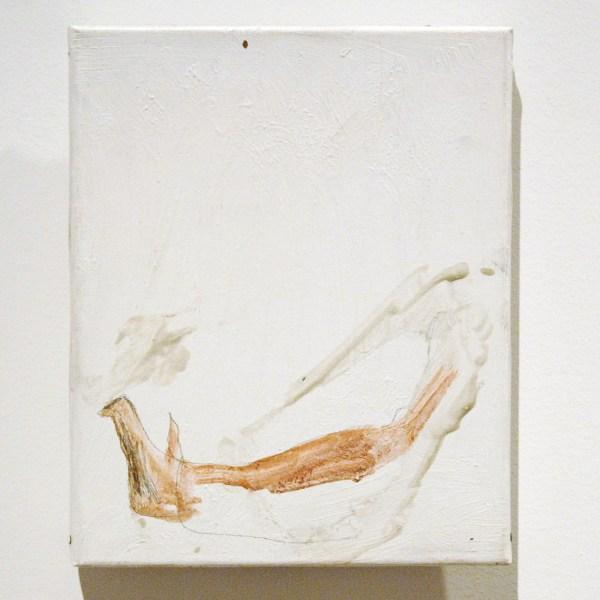 Ronny Delrue - Sporen - Olieverf op doek, 1993