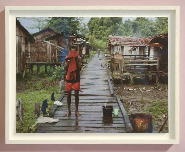 Roy Villevoye - Ti, Early Morning - Injetprint op lompenpapier (oplage 5) €1050,-