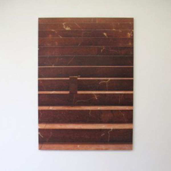 Rumiko Hagiwara - Marble and Brick - Print op dibond