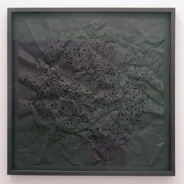 Ryan Gander - The Universe as I knew it aged 5, collapsed and expanded several times or more - 80x80cm Laser gesneden papier, oplage 3 van 10