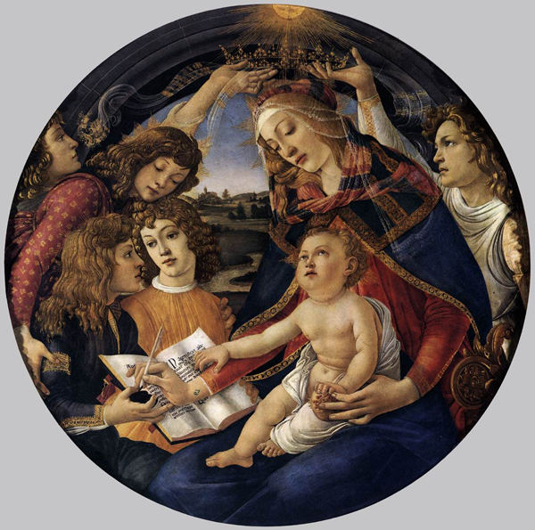 Sandro Botticelli - Madonna of the magnificat