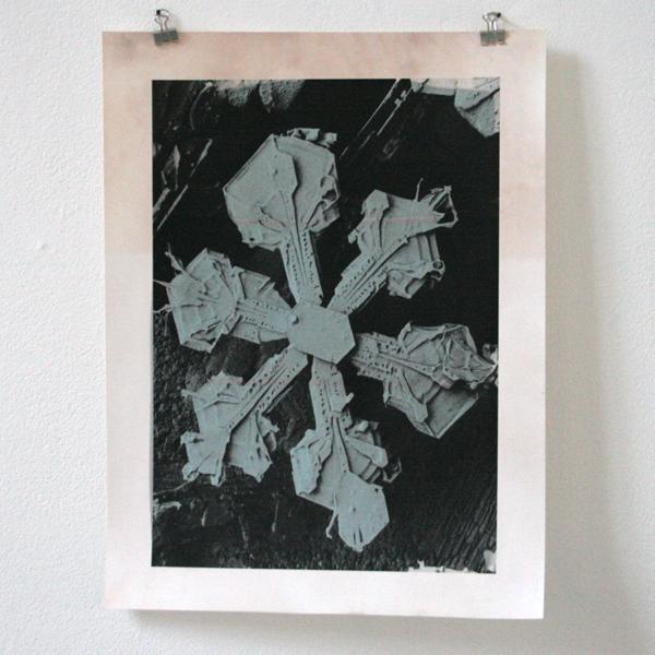 Sema Bekirovic - Snowflake #2 - Half processed analoge print