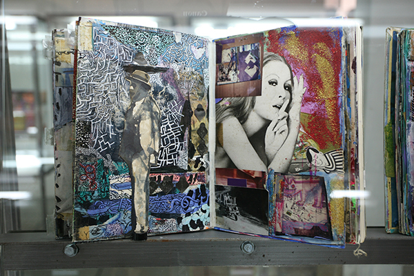Shinro Ohtake, Scrapbook, mixed media artist book