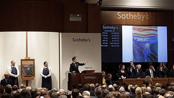 Sotheby's veilt Munch
