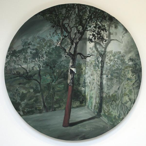 Stefan Peters - Mont Negre - 120cm Olieverf op canvas