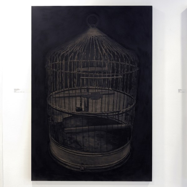 Stefan a Wengen - Anthropology Now IV - 160x110cm Houtskool op linnen