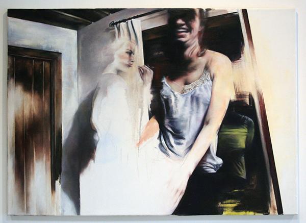 Stephanie Hoekstra - Zonder Titel - 120x160cm Olieverf op canvas