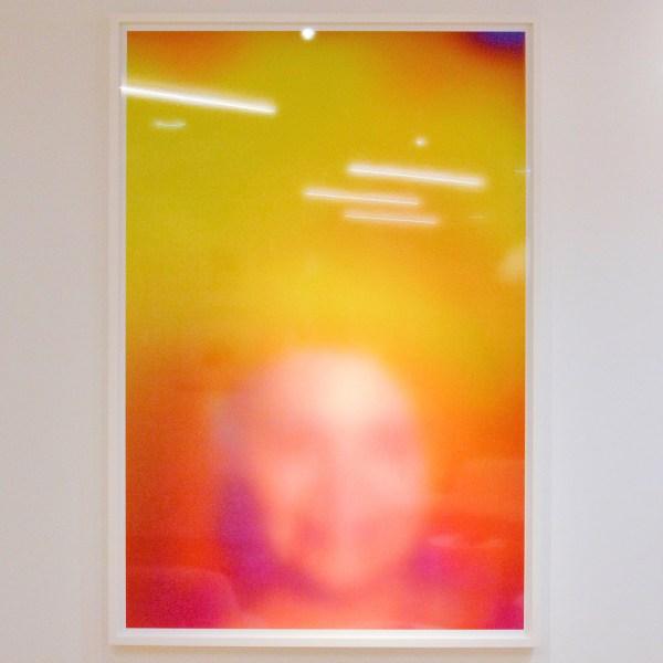 Susan Hiller - Hommage to Marcel Duchamp; Aura (Pink Woman) - 188x127cm Digitale Cprint op dibond, 2011