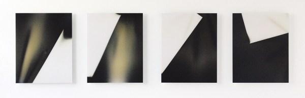Tanya Long - Untitled (Roll from one corner) - 51x41cm Unieke analoge C-Prints