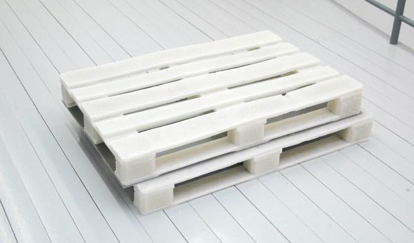 Teun Welten - Pallet Ideal - 130x85cm Brons, acrylverf en bladgoud