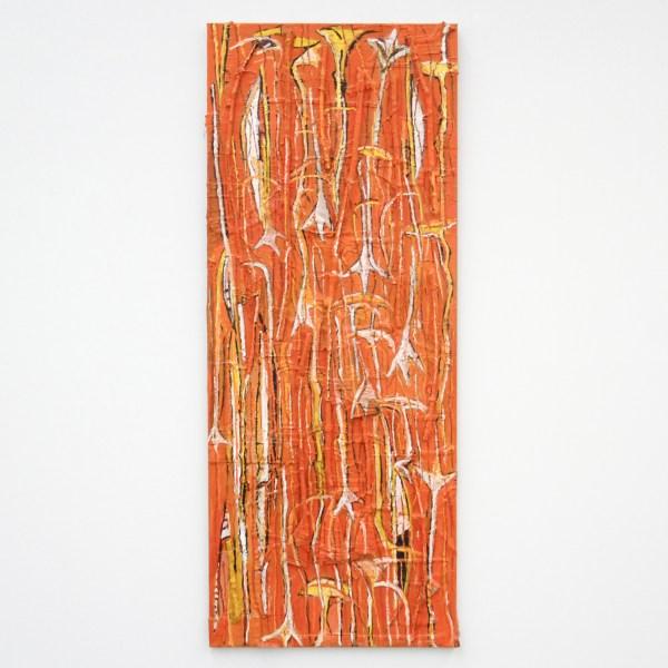 Theo Kuijpers - After Bushfire - Olieverf en collage op doek