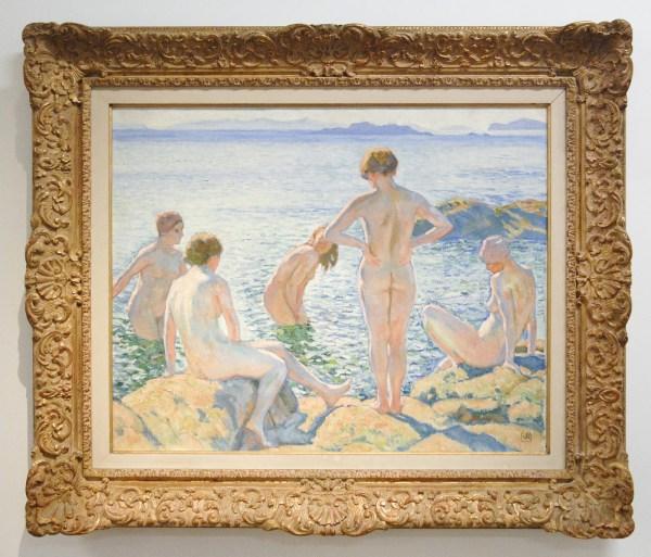 Theo van Rysselberghe - De Baadsters - Olieverf op doek, 1920