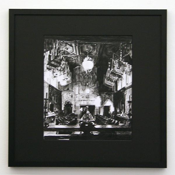 Thijs Zweers - Untitled - 29x34cm Grafiet op papier
