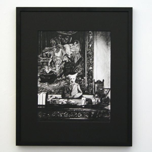 Thijs Zweers - Untitled - 32x40cm Grafiet op papier