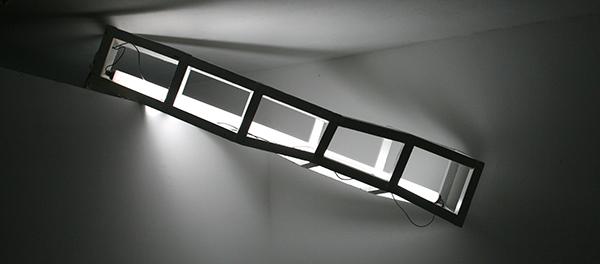 Tijl Orlando Frijns - White Construction With Fluorescent Lamp