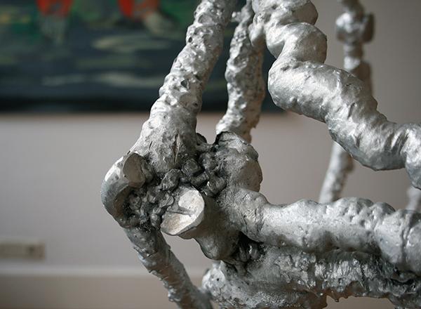 Tim Breukers - Big Doofy Dice - 160cm per rib, Aluminium (detail)