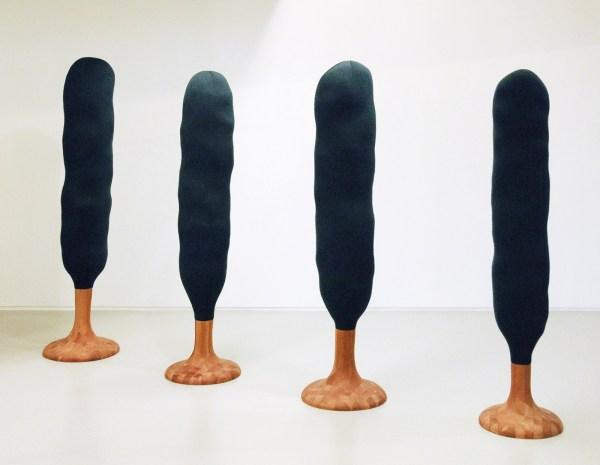 Tom Claassen - Bomen - Kersenhout, polyester en textiel