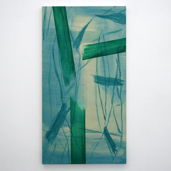 Toon Verhoef - Zonder Titel - 150x80cm Olieverf en acrylverf op doek