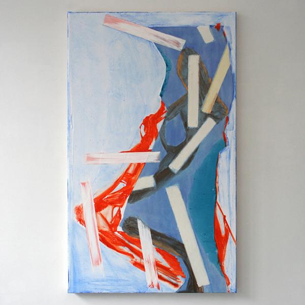 Toon Verhoef - Zonder Titel - 150x90cm Olieverf en acrylverf op doek
