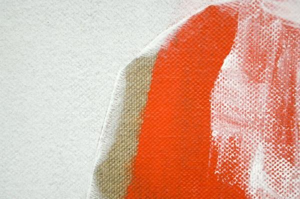 Toon Verhoef - Zonder Titel - Olieverf en acrylverf op doek (detail)