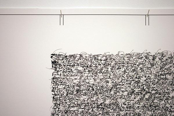 Toon van Borm - The Fields - Ikjet en inkt op fotopapier (detail)