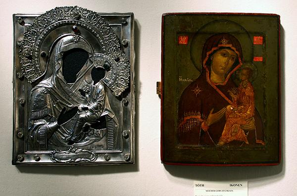 Toth Ikonen - 1772 Russisch Icoon initialen OC