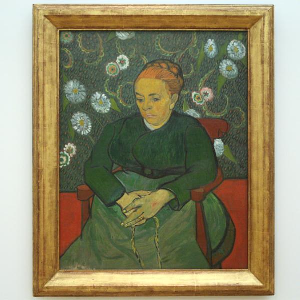 Vincent van Gogh - Augustine Roulin (La Berceuse) - Olieverf op doek