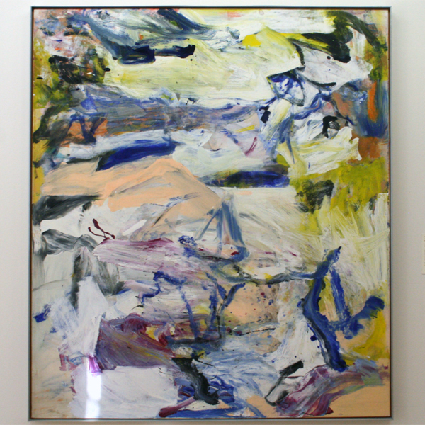 Willem de Kooning - North Atlantic Light - Olieverf op doek