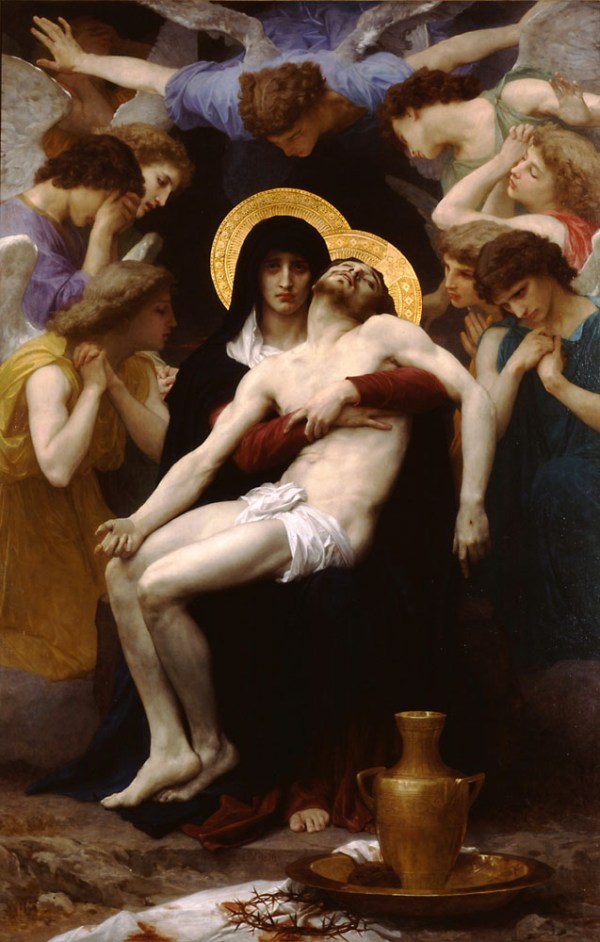 William Bourgereau - Pieta - 230x148cm Olieverf op canvas, 1876