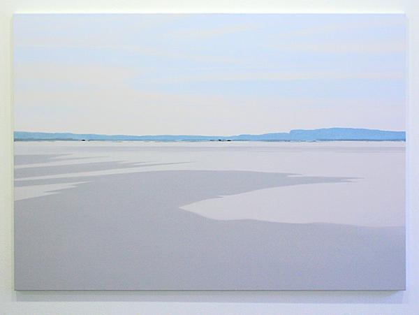 Wim Claessen - Lake - 120x170cm Acrylverf op canvas