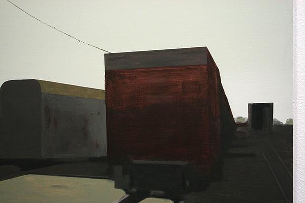 Wim Claessen - Silence (Wales) - 80x120cm Acrylverf op canvas (detail)