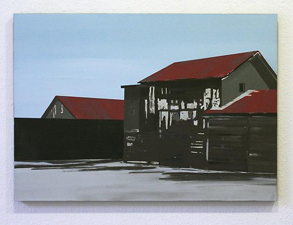 Wim Claessen - Silent City - 50x70cm Acrylverf op MDF