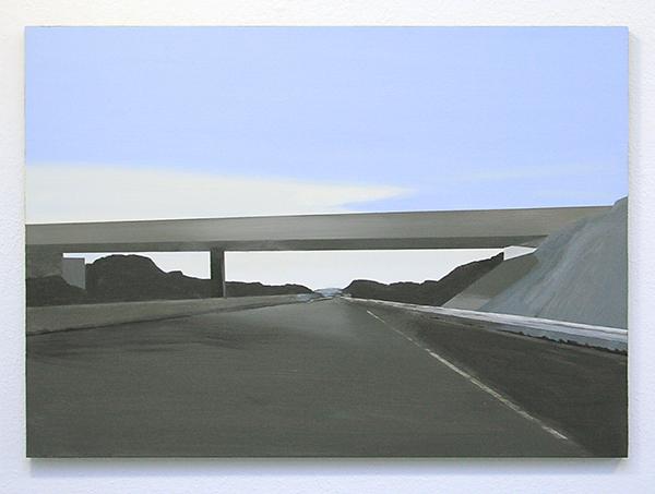 Wim Claessen - Viaduct - 50x70cm Acrylverf op MDF