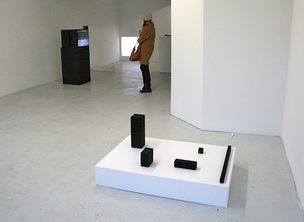 Wojciech Bakowski - Impressions Spread Out - Geluidsinstallatie, 5 speakers en 3DVDs