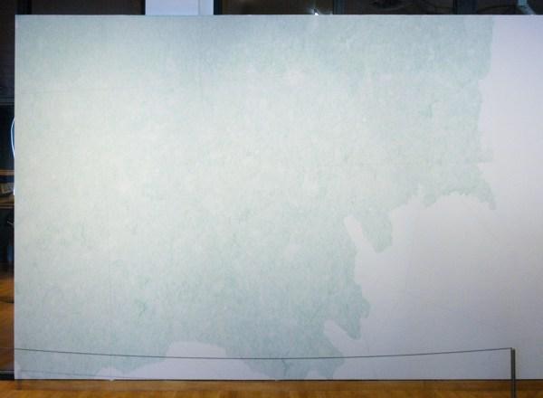 Wouter Venema - One to One - 300x400cm Kleurpotlood op muur