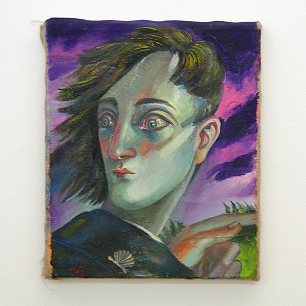Yuri Rodekin - Agathon Peregrinus - 30x30cm Olieverf op canvas